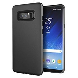 Galaxy Note 8 Case, Cimo Matte Black